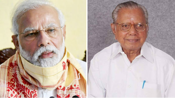 PM Modi expresses condolences on K.N. Lakshmanans demise