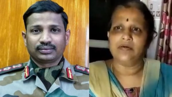 Proud of My son sacrificed his life for the nation: Col.Santosh Babu Mother Manjula