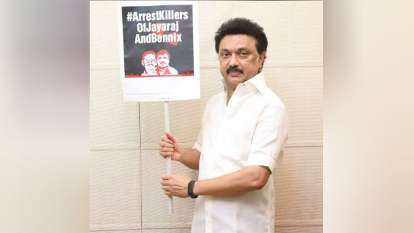 mk stalin says, sathankulam case do I have to remind you for arrest ?