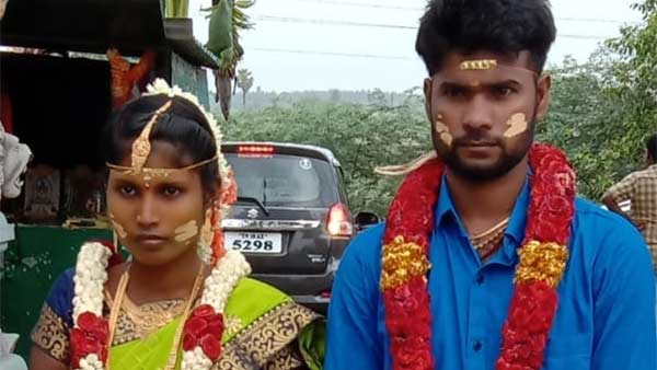 husband suicide after murdering his wife in first night room near thiruvallur