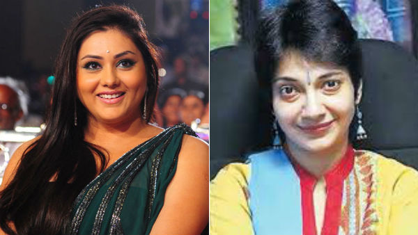 Actress Namitha appoints in EC member BJP