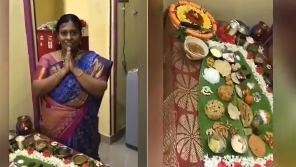 Aunty prepares 67 food item for her son-in-law in Andhra