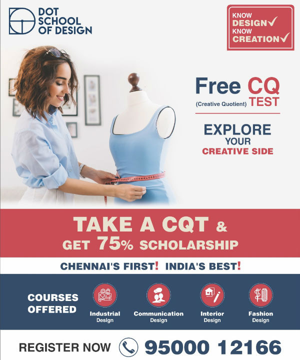 DOT School of Design gives you the chance to create your future in the Design field