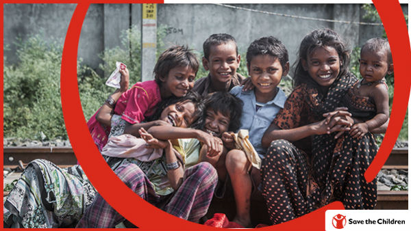 Contribute your donation to Save the Children