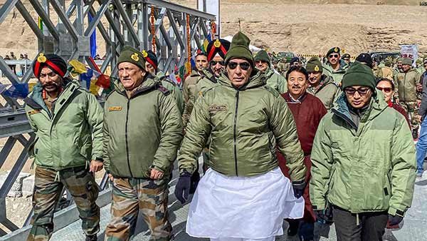 Defence Minister Rajnath Singh to visit Ladakh tomorrow