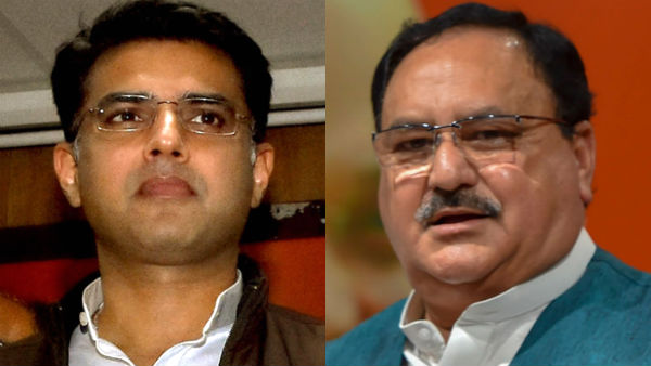 Rajasthan politics: sources says, Sachin Pilot likely to meet BJP chief JP Nadda on today