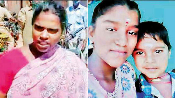 mother killed his children near tanjore due to family issue
