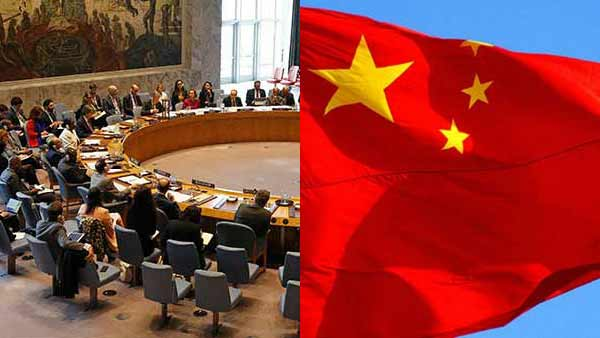 Chinas anti India draft statement has been delayed in UNSC by twice