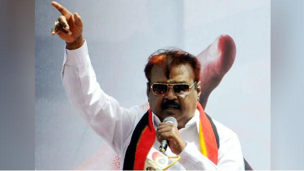 விஜயகாந்த் மீண்டும் சீறிப் பாயப் போகிறார்.. வாய்ஸ் வந்து விட்டது.. அக்குபங்சர் டாக்டர் கூறுகிறார்!