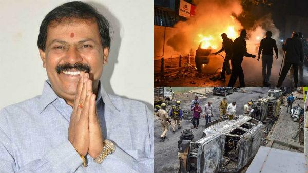 3 மாஜி அமைச்சர்கள் vs எம்எல்ஏ.. அரசியல் சதுரங்கத்தில் பலியான உயிர்கள்.. பெங்களூர் கலவர பகீர் பின்னணி