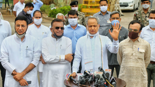 I will take care of the 100 resentful Congress MLAs says Ashok Gehlot