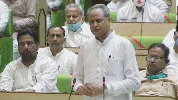 Chief Minister Ashok Gehlot led Rajasthan Government wins vote of confidence in the State Assembly
