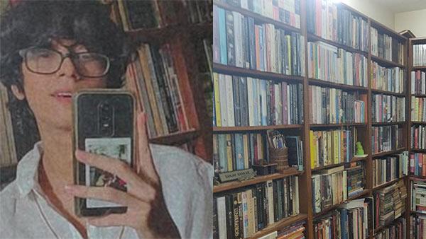 8000 புத்தகங்கள்.. வீட்டிலேயே குட்டி லைப்ரரி வைத்திருக்கும் சௌமிக்.. குவியும் திருமண புரொபோசல்கள்!