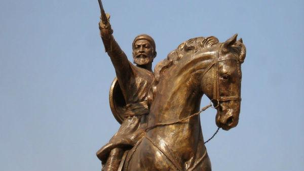 ராவணன் ஸ்டைலில்...சிவாஜி சிலை நீக்கம்...போலி பாஜக...சாம்னாவில் சிவசேனா விளாசல்!!