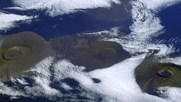 Galapagos Islands picture taken from space leaves netizens awe-struck