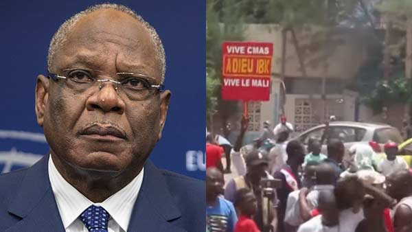Mali president Ibrahim Boubacar Keita, PM Boubou Cisse held by mutinying soldiers