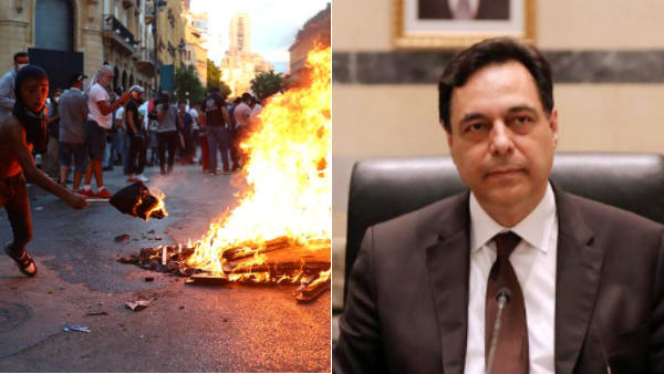 Lebanon Govt resigns over Beirut blast