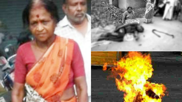 40 year old man set fire on himself in front of bank in loan issue near tanjore