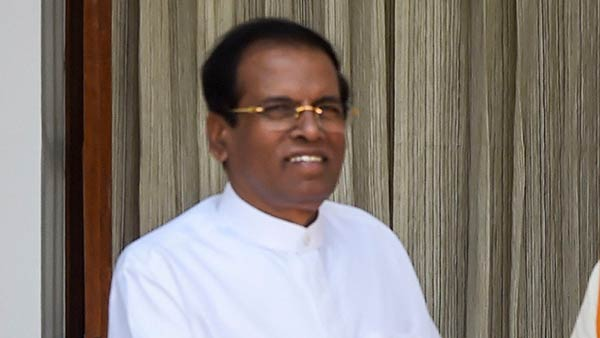 Srilanka Police to record statement from Maithripala Sirisena on Easter day attacks