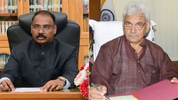 Girish Chandra Murmu resigns Manoj Sinha appointed as new lieutenant governor of Jammu and Kashmir