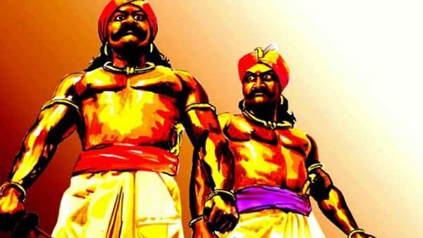Maruthu brothers proclamation of independence befor Sepoy Mutiny of 1857