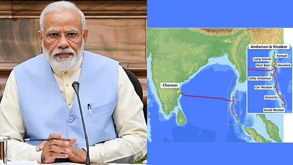 PM Modi to launch submarine cable connectivity for Andaman Nicobar