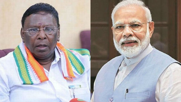 NEET exams : Puducherry Chief Minister Narayanasamy writes letter to Modi