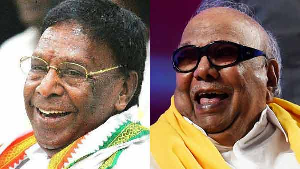 After Kamarajar Karunanidhi is the reason behind Tamilnadu growth: CM Narayanasamy
