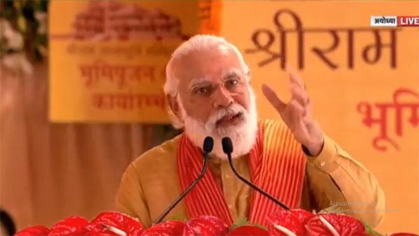 Pidato Modi