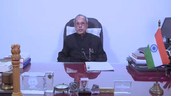 Pranab Mukherjee hails Karunanidhi for his voice for Federalism