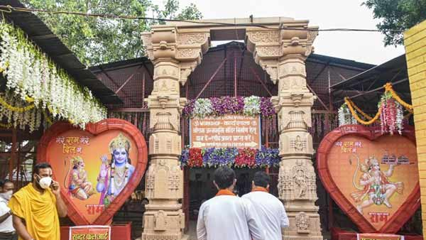 Rituals begin as Ayodhya temple getting ready for Bhumi Puja