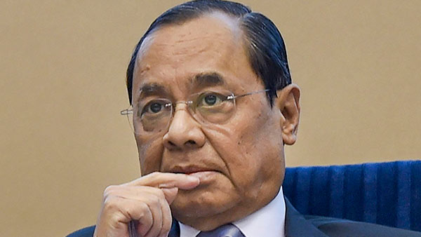 former chief-justice of india ranjan gogoi tests positive for coronavirus