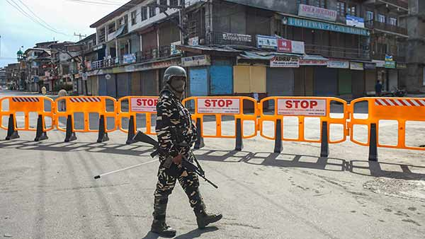 144 curfew restriction implemented today and tomorrow in Srinagar
