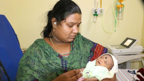 Help 15 days old baby of Swathi recover from Heart problem