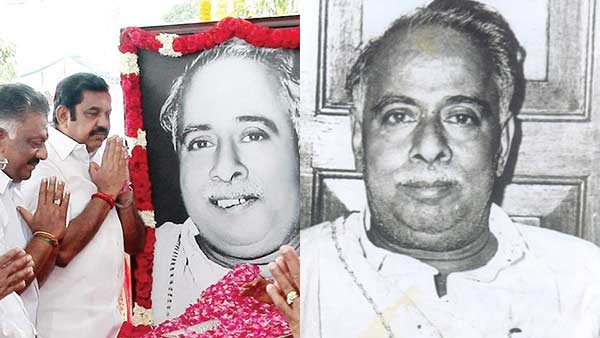 Arignar Anna 112th birthday: TamilNadu Chief Minster Tributes Anna
