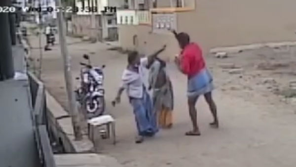 Video goes viral PWD staff beats old age people in Pondicherry