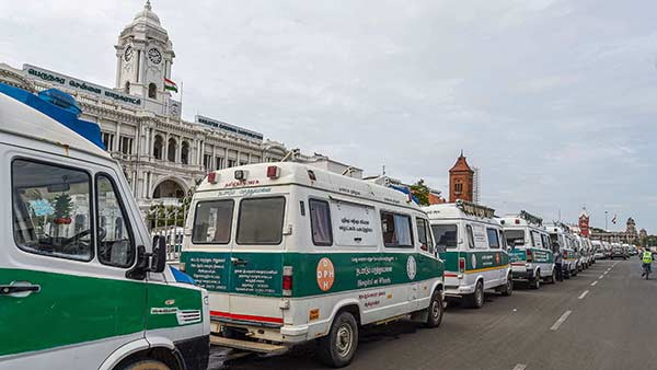 According to the Chennai Corporation officials, there are no containment zones in Chennai at present