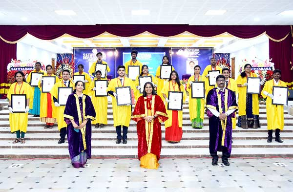 CM participated in 29th Graduation Ceremony of Sathyabama Deemed university