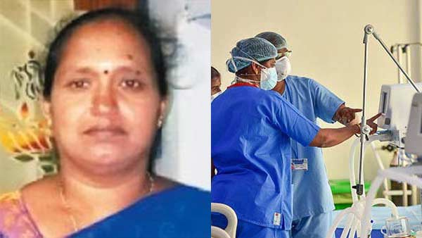 Woman died in corona ward Tirupur hospital due to lack of Oxygen