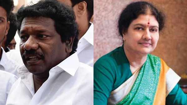 will definitely be buzzing in the AIADMK when sasikala gets out of jail : Karunas mla