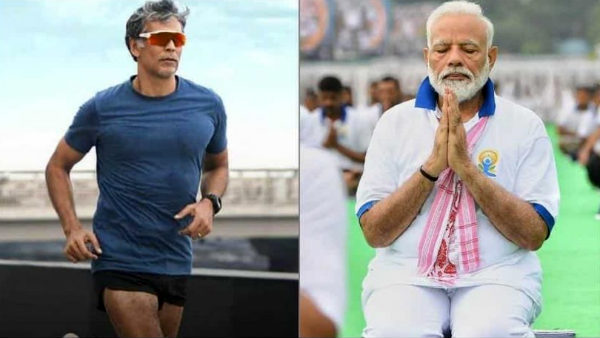 PM Modi wonders after knowing the age of Milind Soman