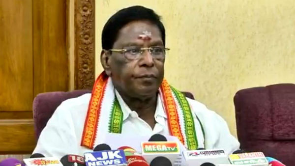 COVID-19: Financial situation in Puducherry very critical, says Narayanasamy