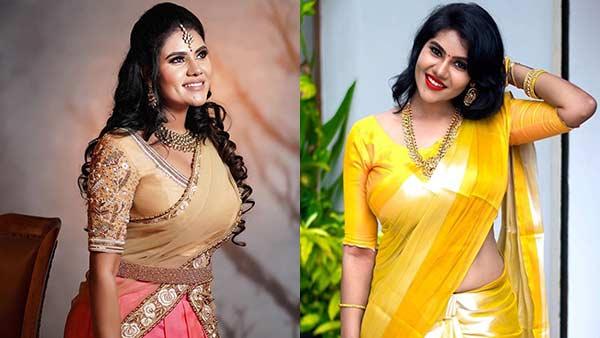 பிங்க் கலரில் அழகின் பிரமாண்டம்... பின்னும் நிவிஷா.. பெருமூச்சு விடும் ரசிகர்கள்