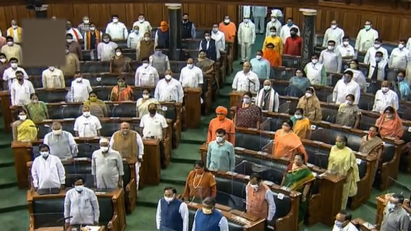 Monsoon Session Ends parliament adjourned to novel coronavirus pandemic