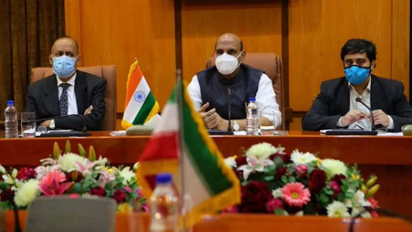 Iran minister hold bilateral ties with Indian counterpart Rajnath singh