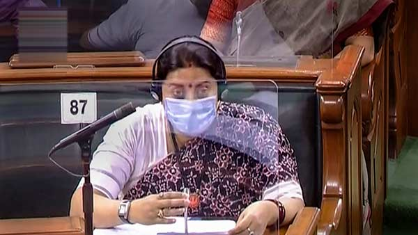 Tamil Nadu has been given Rs 303.06 crore nirbhaya fund says Smriti Irani