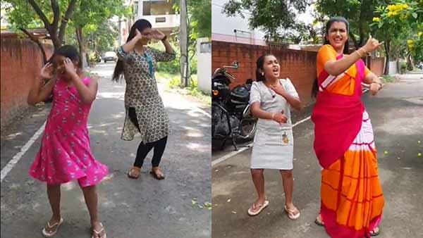 தெருவில் இறங்கி ரகிட ரகிட.. செம ஸ்ரீதேவி.. உற்சாகத்தில் வாய் பிளந்த ரசிகர்கள்!