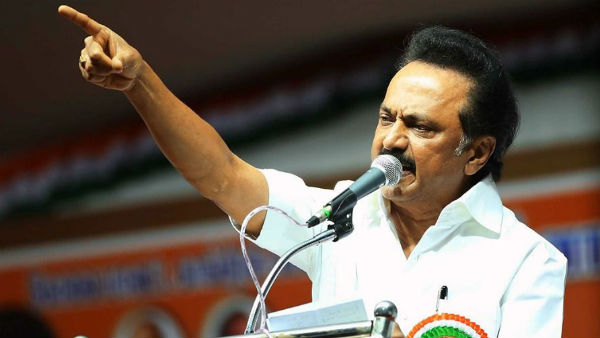 The states negligent deaths have increased with the corona deaths - M. K. Stalin