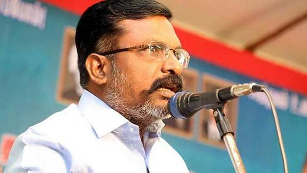 Thol Thirumavalavan requests PM Modi to ban NEET Exam