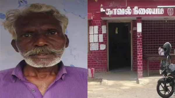 An old woman killed by drug addict man in a temple near trichy